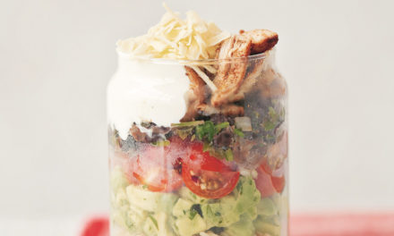 Spice Up Your Lunch With This Burrito Jar Recipe