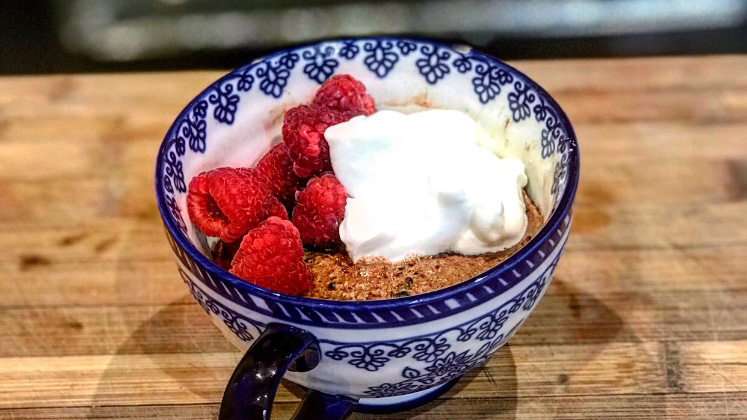 Whip Up A Post-Workout Treat In Minutes With This Protein Mug Cake Recipe