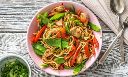 Whip Up This Protein-Packed Chicken Chow Mein Recipe In 20 Minutes
