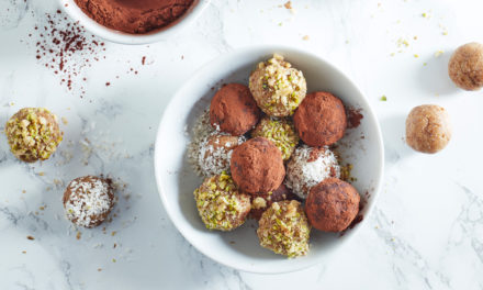 Step Up Your Snack Game With This Cocoa And Almond Energy Balls Recipe