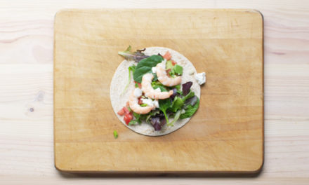 A Prawn And Avocado Wrap Recipe That Will Make You Look Forward To Lunch