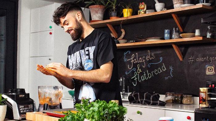 Vegan Chef Gaz Oakley's Tips For Cooking Great Vegan Food